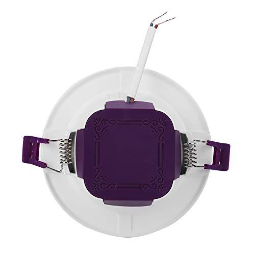 Cerlingwee Downlight de Control de Voz, lámpara de luz de Brillo de la lámpara de Control de la aplicación, excelente Fiesta Resistente al Calor para el hogar