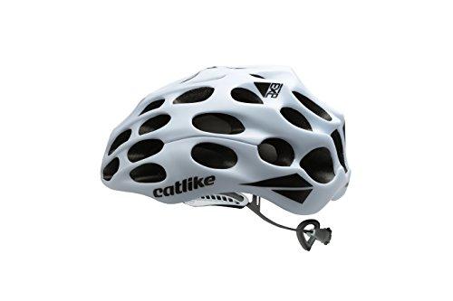 Catlike Mixino Casco de Ciclismo, Unisex Adulto, Blanco Mate, SM (52-54cm)