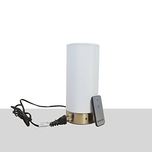DRULINE 24 cm Grundig tafellamp tafellamp afstandsbediening bedlampje Touch E14 modern rond