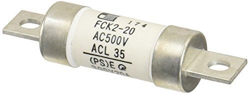 富士電機機器制御 筒形ヒューズ 刃形端子 20A FCK2-20