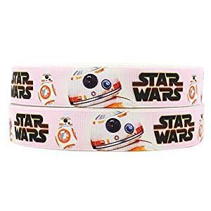 2m x 22mm New Star Wars Sphero bb-8Droid Ripsband für Geburtstag Kuchen Geschenkpapier Karten