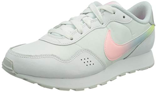 Nike MD Valiant (GS), Sneaker, White/Multi-Color-Pure Platinum-Arctic Punch, 40 EU