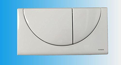 SCHWAB Betätigungsplatte VIVA 227556 Drückerplatte Abdeckplatte weiß