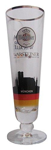 Warsteiner - Fan Tulpen - Bierglas - Motiv 9 von 10 - München