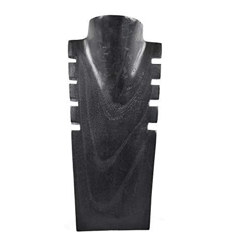 Coco Papaya - Expositor para collares (madera, 30 cm), color negro