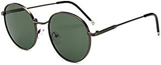 Sunglasses Fashion Accessories UV Modern Retro-Style Round Sunglasses Outdoor Dance Party (Color : Green)