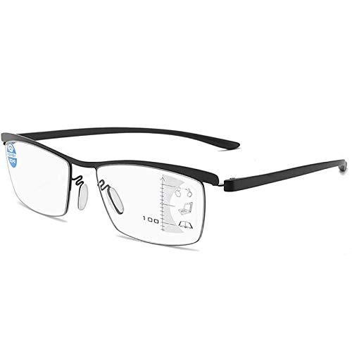 GUAWJRZDP Gafas De Lectura para Hombres Y Mujeres,Gafas para Juegos De Ordenador Anti-Azules,Lector Antideslumbrante,Patillas De Luz TR90,Anti-Fatiga Ocular