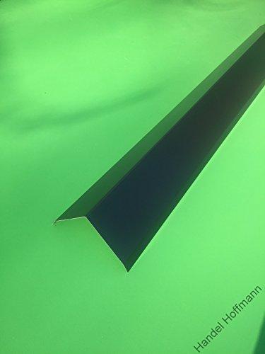 Firstblech 1 m lang Aluminium farbig 0,8 mm (mittel, Anthrazit)