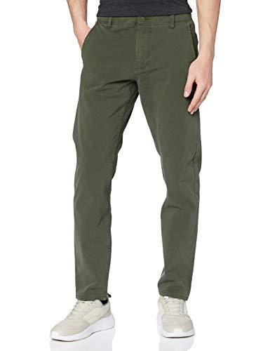 Dockers Smart 360 Flex Alpha Slim Pantalones, Verde Olive 0001, 32W / 30L para Hombre
