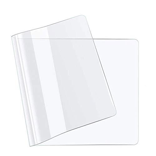 Transparante kunststof PVC Tapijt Stoel Matten Tapijt Vloerbeschermer voor Stoel Bureau Home Office 30x60cm Dikte: 2 mm.