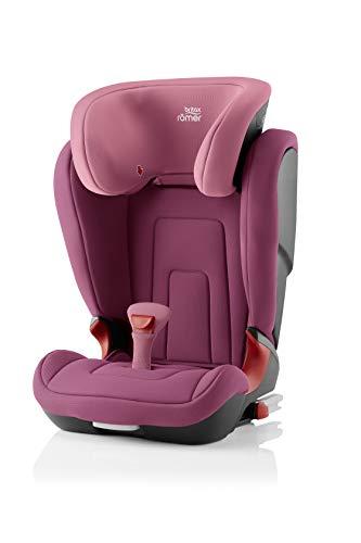BRITAX RÖMER Siège Auto KIDFIX 2 R, Confortable avec Protections Latérales, enfant de 15 à 36 kg (Groupe 2/3) de 3.5 ans à 12 ans, Wine Rose