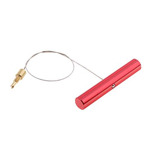Motocicleta tirador de la válvula de aire del tubo de cambio de neumáticos válvula de aire Extractor de motos Neumáticos Herramienta de montaje de la válvula del tubo de instalación ( Color : Red )
