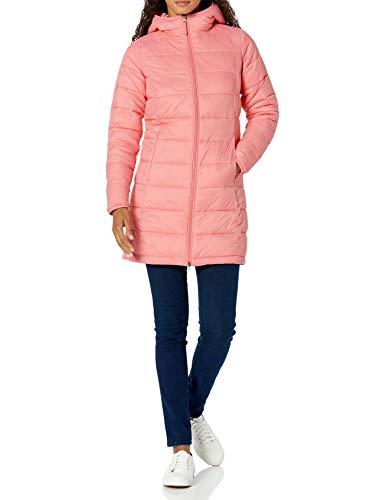 Amazon Essentials Damen-Daunenjacke, leicht, wasserabweisend, verstaubar, rose, XL