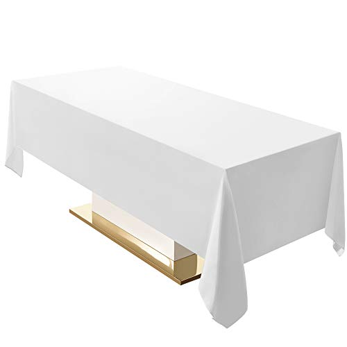Best white cloth tablecloth 120 for 2020