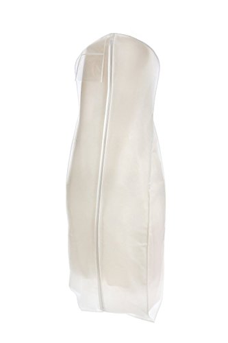 Bags for Less Brand New White Breathable Wedding Gown Dress Garment Bag