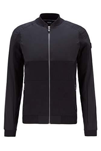 BOSS Herren Zaytona Cardigan Sweater, Black (1), M EU