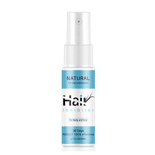 Allbestaye Hair Growth Inhibitor Enthaarungsmittel Spray Haarentfernung Schaum für Männer und Frauen