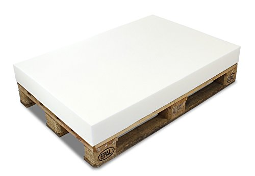 MSS® PALETTENKISSEN MATRATZENKISSEN (120x80x10 cm) Schaumstoff FÜR EUROPALETTE/HUNDEKISSEN/Auflage