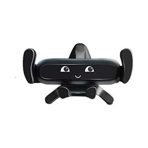 MONALA Creativity - Soporte para teléfono móvil (10 cm, apto para la mayoría de smartphones, 1 unidad), color negro