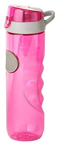 Thermo Rex X-Treme Trinkflasche | 780ml | pink | aus BPA-freiem Kunststoff | nahezu bruchsicher und wiederverwendbar | mit Clip-Deckel | Sportflasche | Wasserflasche