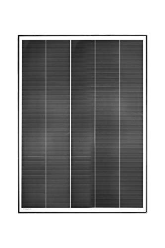 enjoysolar® Monokristallin Solarmodul Mono Solarpanel mit neuartiger Schindeltechnologie (180W)