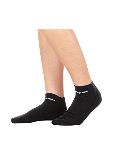 Trigema Damen Kurzschaft-Socken Doppelpack Füßlinge, Schwarz (Schwarz 008), 39/42 (2er Pack)