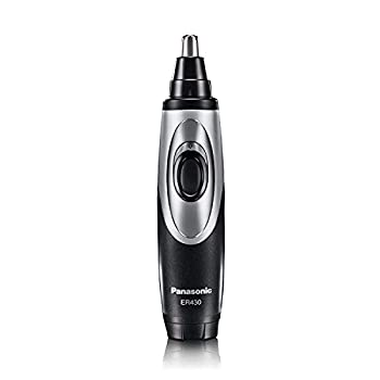Panasonic Nose Hair Trimmer and Ear Hair Trimmer ER430K Vacuum Cleaning System  Men s Wet/Dry Battery-Operated