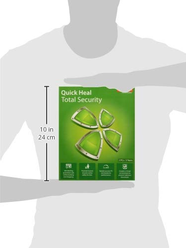 Quick Heal Total Security Latest Version - 2 PCs, 3 Years (DVD) 4