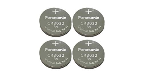 Photo of 4-Pack Panasonic Battery, Lithium Button Cell Cr3032- Cr 3032