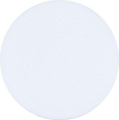 Quarter Size Golf Ball Markers (Packs of 100) Plain (White)