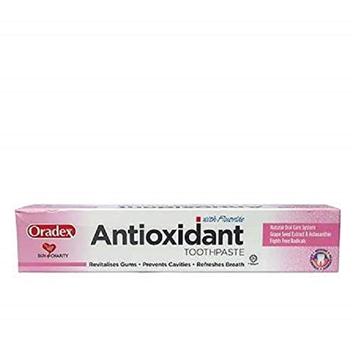 #MC ORADEX ANTIOXIDANT with Fluoride Toothpaste 120G- Pleasant Tasting, Soothing on Teeth and Gums and Breath refreshening.