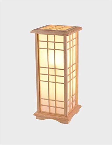 Allamp Norte de Europa Lámpara de pie, Moderno Minimalista Solid Wood Room Dormitorio de Noche Incluye Bombilla (Color : Medium)