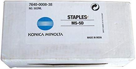 4623-361 KONICA BR 7155 MS-5D, 3-5,000 J1 STAPLE CTGS