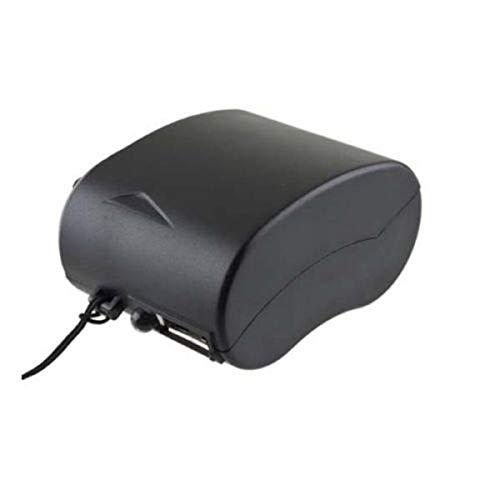 Nihlsfen Mini Linterna de Radio USB de manivela Cargador de teléfono Celular Cargador de generador de energía de Emergencia Manual portátil para Viajes al Aire Libre