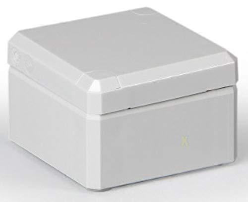 Kunststoff Klemmenkasten ABS IP66 (LBH 53x55x36 mm, Deckel grau)