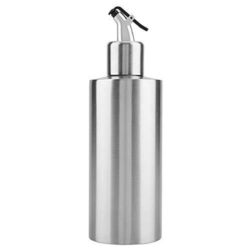 KSTE Ölspender 1 PC 550 ml Edelstahl-Öl, Essig Soßendispenser Behälter, Wohnküchenzubehör (A B)
