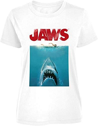 Jaws - Tiburón & Nadador Distressed -...