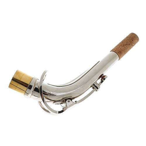 gazechimp Finest Metal Eb Alto Saxofón Cuello Doblado Instrumento De Viento De Madera Instrumento