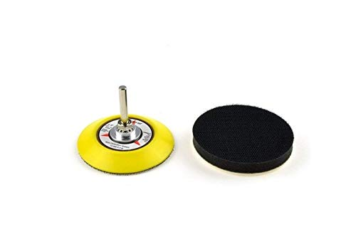 Great Deal! Galapagoz Hook and Loop Sanding Pad with Soft Foam Layer Buffering Pad 3 Inch USA