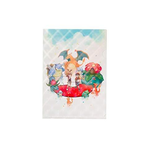PC Pokemon A4 Clear File (Pikachu Eevee Bulbasaur Charmander Charizard Squirtle) Pokémon: Lets Go Pikachu!・Pokémon: Lets Go Eevee! - Nieuw avontuur