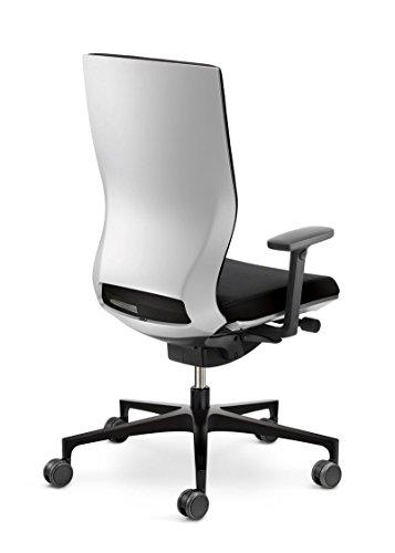 Klöber Drehstuhl Moteo Perfect mit Armlehnen Bürostuhl Bürosessel Arbeitsstuhl Schwarz