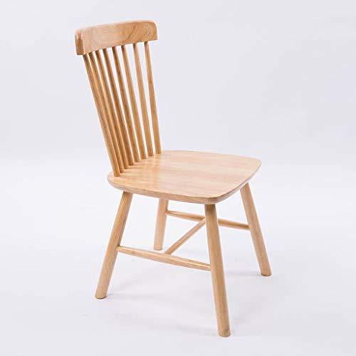 JYQ-SZRQ Hochstuhl Satz Von 2 Nordic Hochlehner Holz Esszimmerstühle Vintage Komfortable Rückenlehne Windsor Stuhl for Home Küche Lounge Bar Stühle (Color : B)