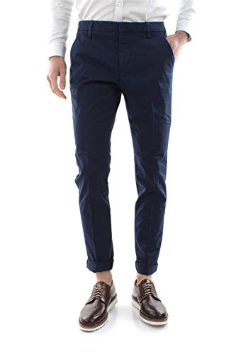 DONDUP Gaubert GSE046 Pantaloni Uomo Blu 35