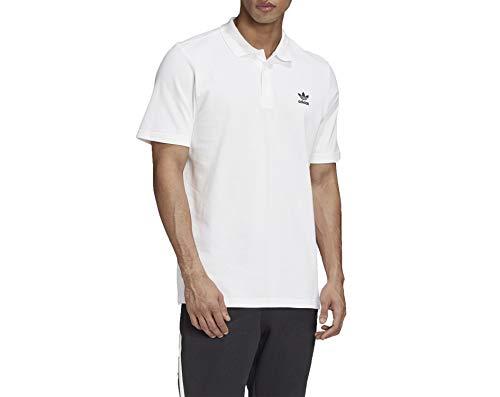 adidas Herren Essential Polo Shirt, White, M