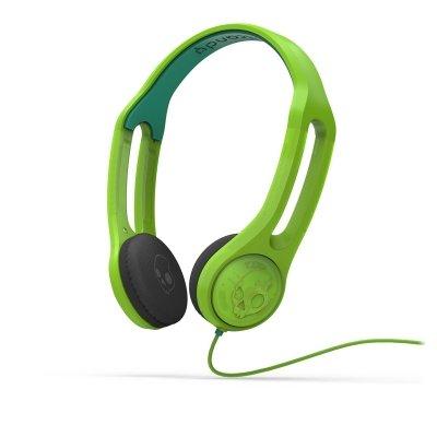 Skullcandy  Headset ICON 3 Galatica Grün mit Mikrofon/Fernbedienungs-Taste an der linken Ohrmuschel