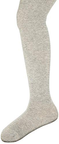 s.Oliver Socks Mädchen S23002 Strumpfhose, Grau (Light Grey Melange 0010), 110/116 (5-6 Jahre)