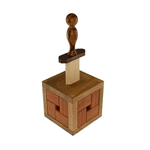 AJIC Sucastle Excaliburr Ratzzelle Box Level 10 Puzzles für Erwachsene Brain Challenge Intelligenz Spielzeug für Erwachsene Kinder