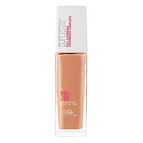 Base Facial de Alta Cobertura Superstay Full Coverage, Toffee - 30Ml, Maybelline, Toffee, 30Ml