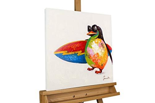 KunstLoft® Acryl Gemälde 'Surfers Paradise' 50x50cm handgemalt Leinwand Bild