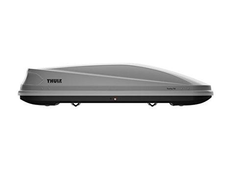 Thule Touring Cofre de Techo/Baúl de Techo/Baúl portaquipajes 420L Titanio - Accesorio para Coche (1960 mm, 780 mm, 430 mm, 15 kg)